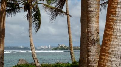 View from Asan Beach