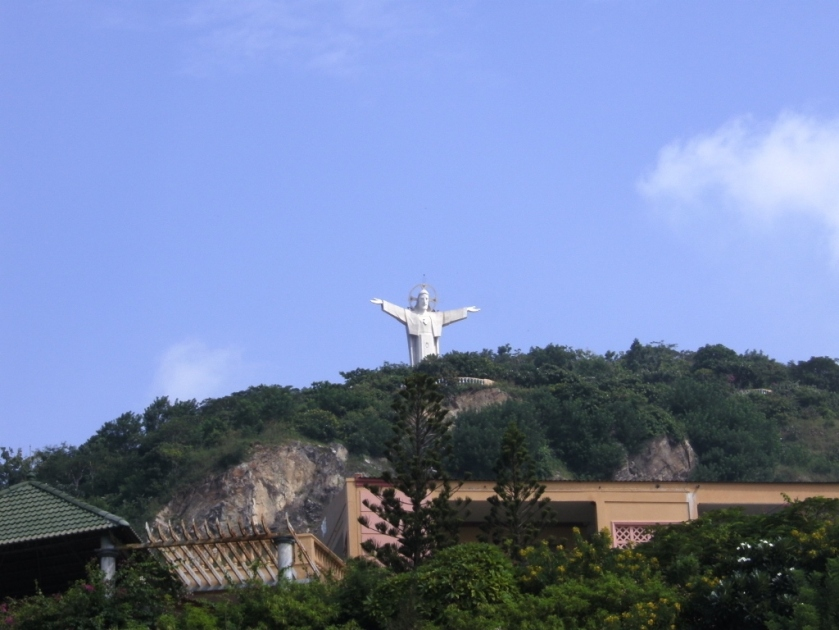 Statue of Jesus in Vung Tau, Vietnam