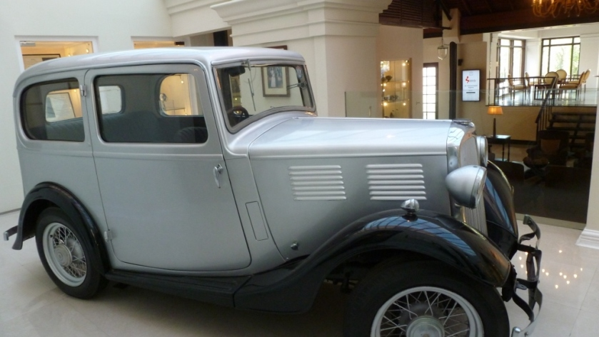 The one and only car in the Galle Face Hotel Car Museum!