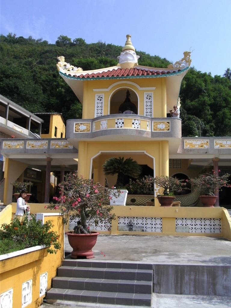 The Buddhist Temple in Vung Tau, Vietnam.