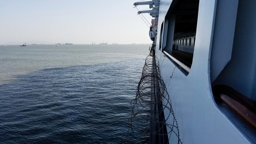 Razor Wire Deck 3 Promenade