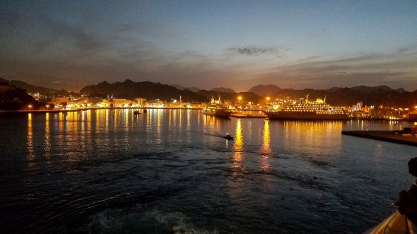 Good Bye Muscat, and the Sultan's Yatchs