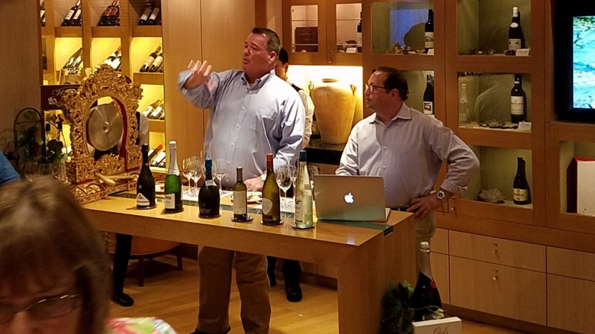 Jeff & Mike presenting the tasting