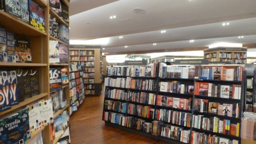 This is a very large bookstore!