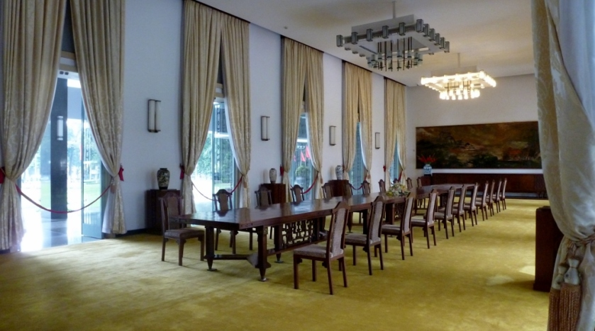 Reunification Palace reception hall