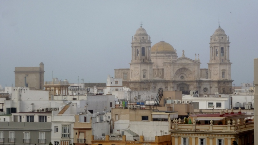 The Cathedral in Cadiz