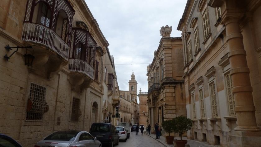 Mdina is filled with a mix of Medieval and Baroque architecture.