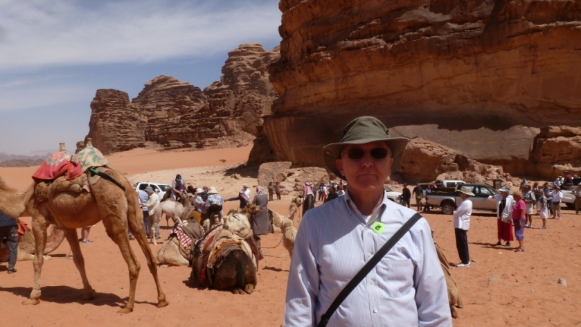 Rog and a bunch of camels!