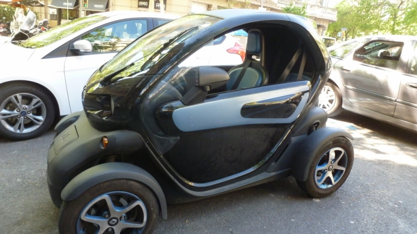 A tricked-out Smart Car!!!!