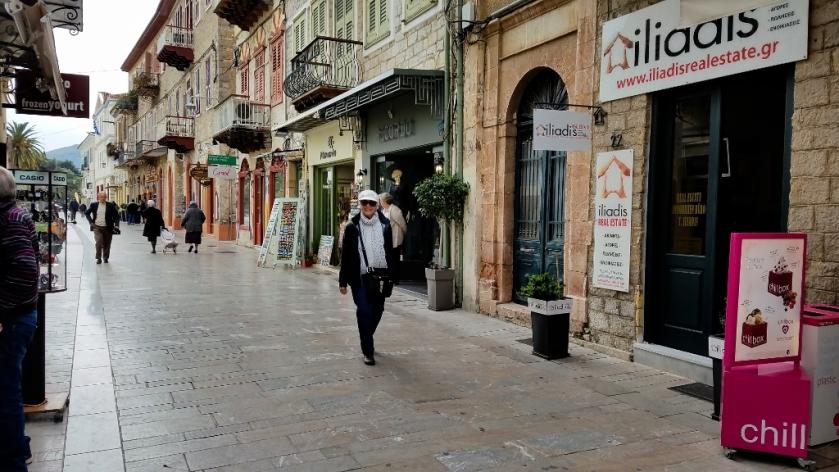 Walking along King Konstantine Street