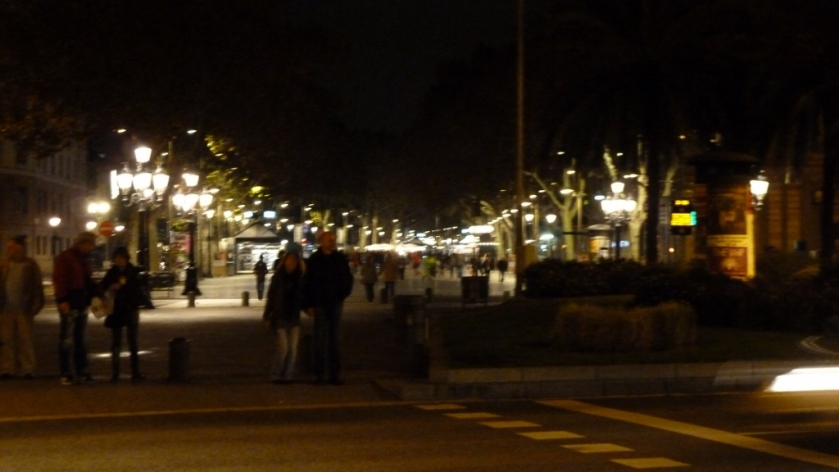 Night On Las Ramblas