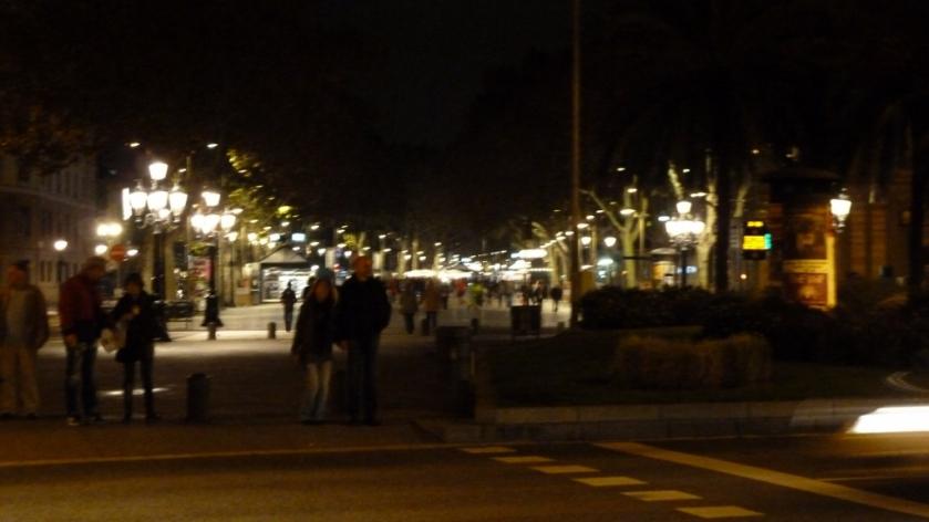 Night On Las Ramblas