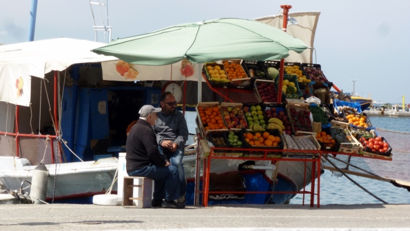 "This is actually listed in MapsMe.com as ""Greengrocer's shop in a boat"""