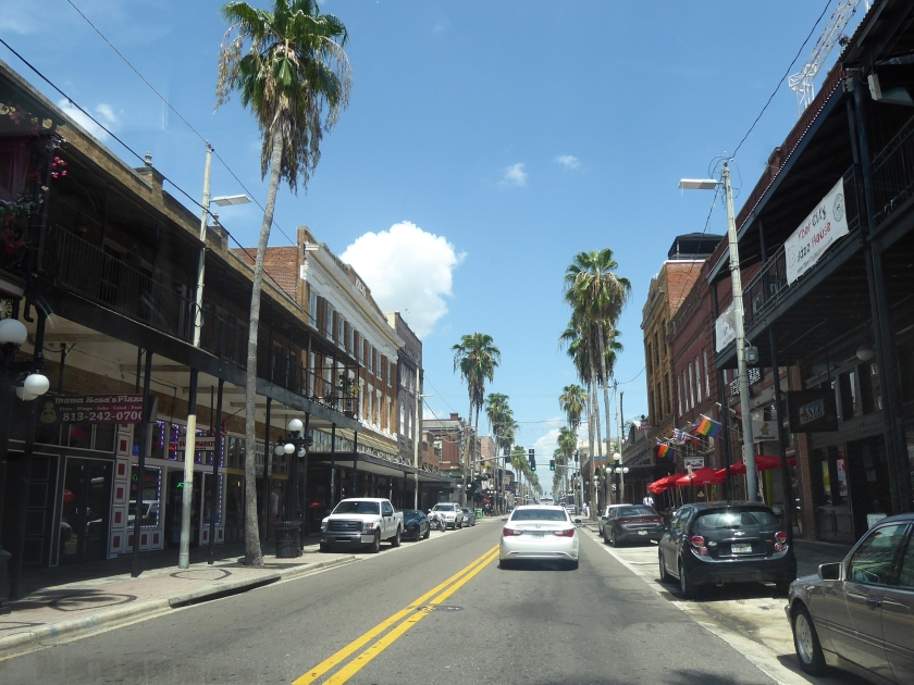 Historic 7th Ave. in Ybor City