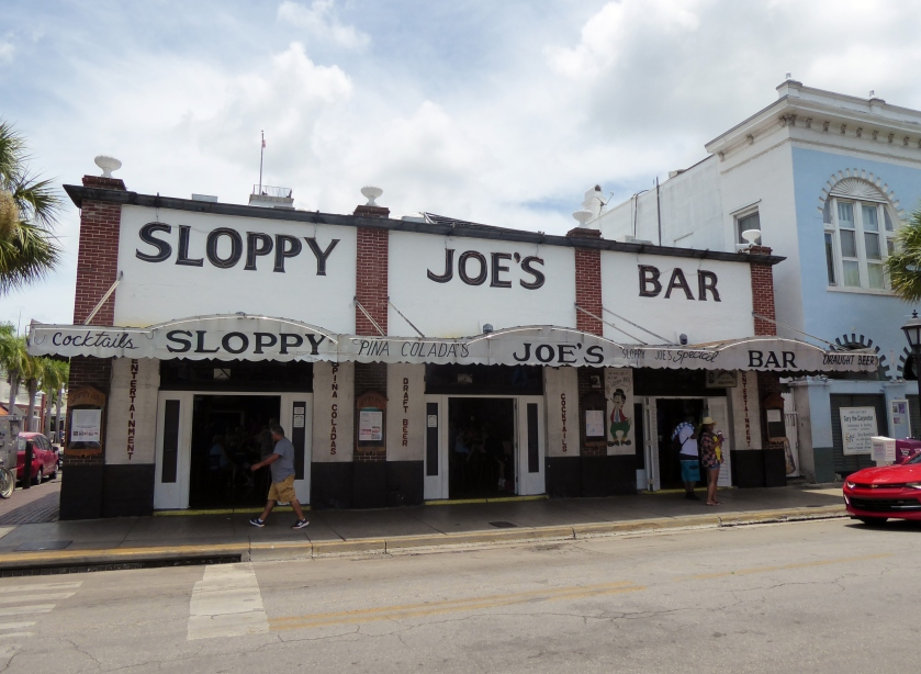Sloppy Joe's Bar on Duval Street.