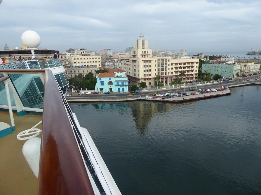 Docked in Havana, Cuba.