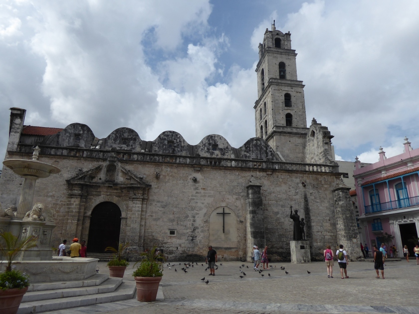 The 16th century Basilica Menor de San Francisco de Asis.