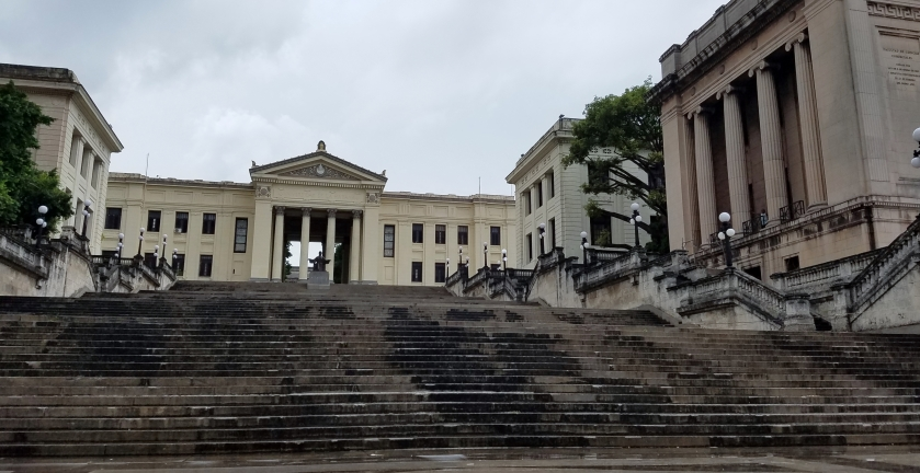 Havana University in the Vedado District