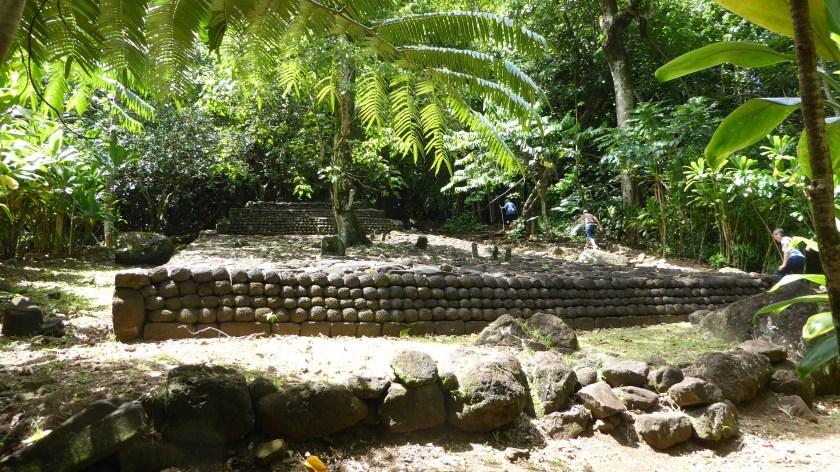 Marae Ahu o Mahine.  Another Religious Site