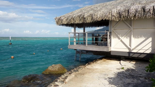 Our home in Moorea.
