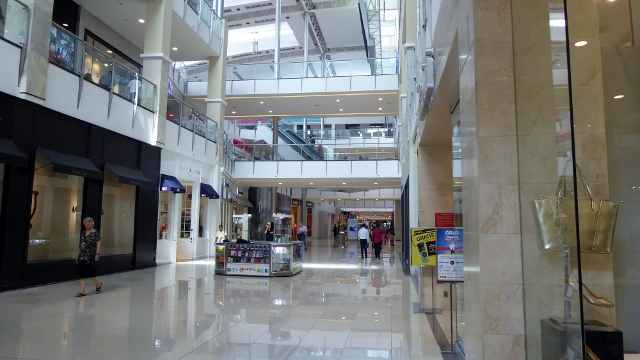 Nice mall--found a bookstore with English language books!