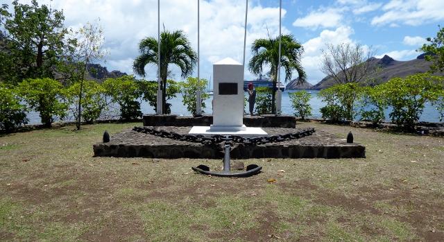 A military memorial.