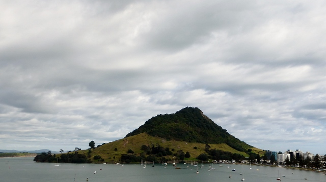 We are docked in the village of Mount Maunganui in the Tauanga Harbor.