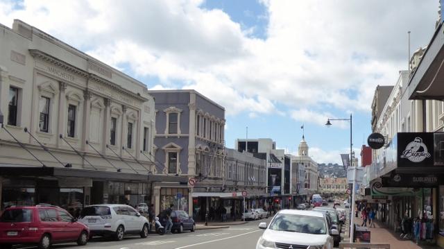 A street view of Dunedin.