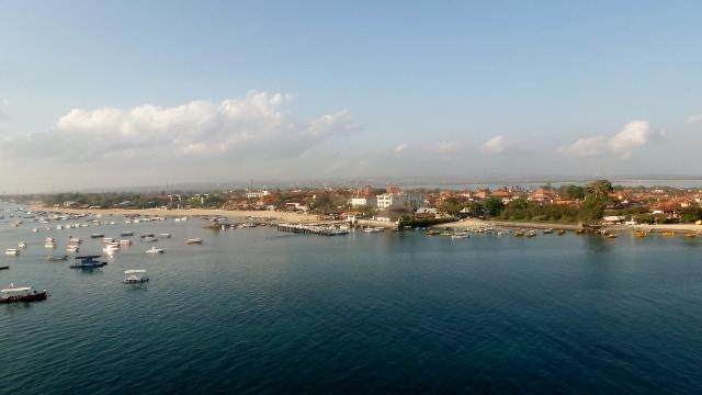 Sailing into Bali