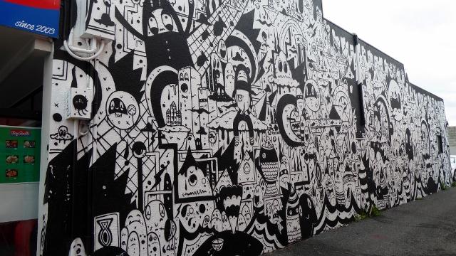 Nice graffiti!