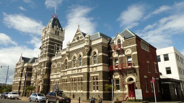 Dunedin High and District Courts