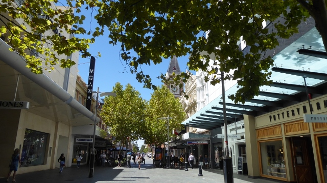 Murray Street Pedestrian Mall
