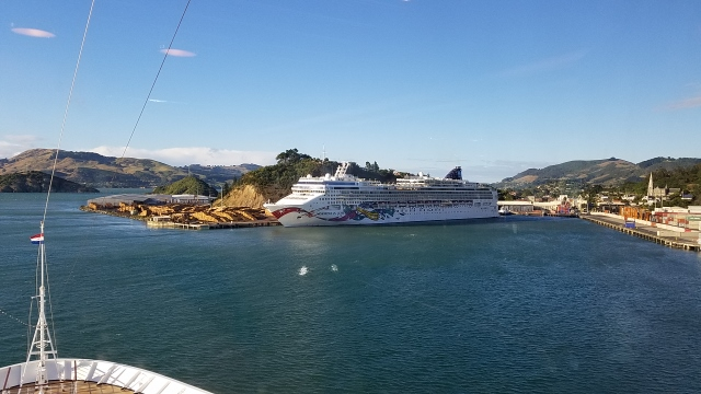 Norwegian Jewel at Port Chalmers