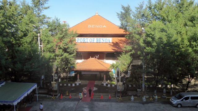 The Passenger Terminal at the Port of Benoa, Bali.