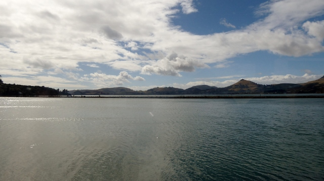 The Boyd Channel from Otago Harbour to Dunedin.