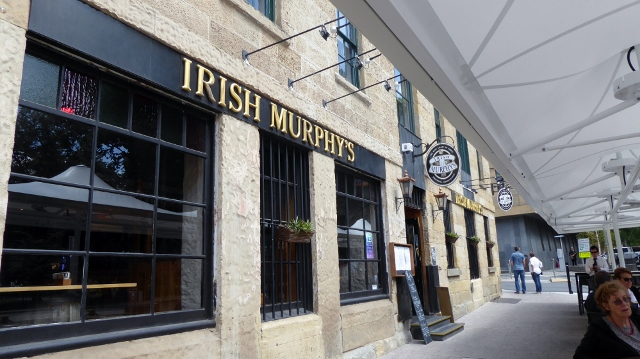 Lunch at Irish Murphy's