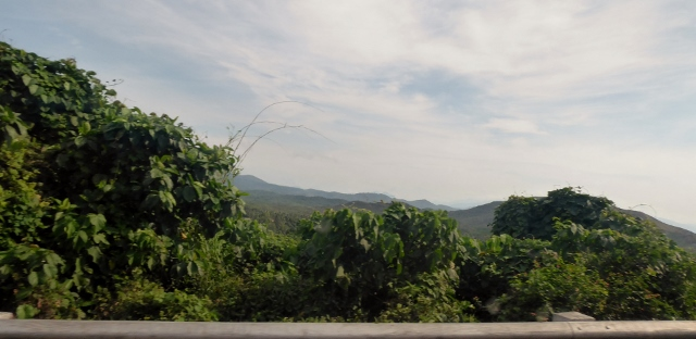 View along the road to Sabang.
