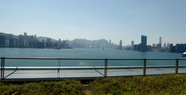 View of Victoria Peak.
