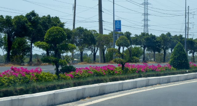 Along the highway to Vung Tau.