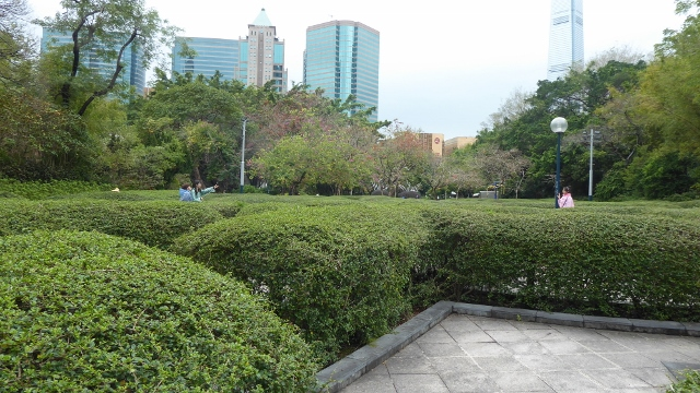 The Maze in Kowloon Park.
