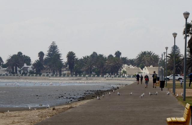 Along the Lagoon promenade