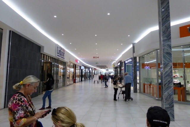 Arriving at the Dunes Mall, we found it just the same as any mall in the US.