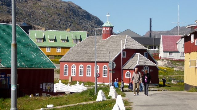 Frelserens Kirke built in 1832.