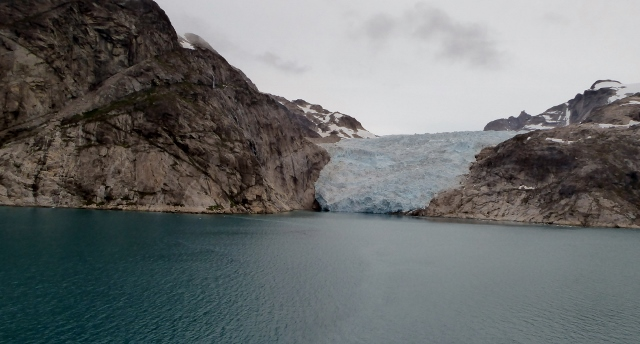 Another view of a glacier.