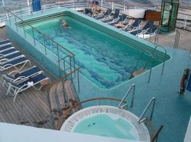 Aft Pool and Spa