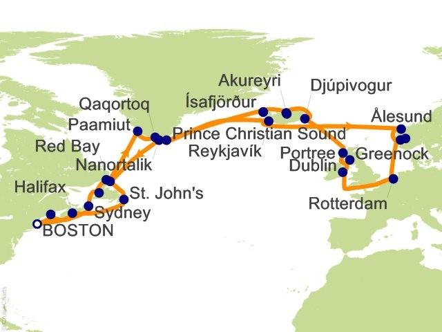 2018-07-18 V of V itinerary map