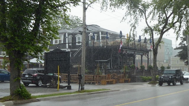 The Governor's Pub & Eatery along the Esplanade.