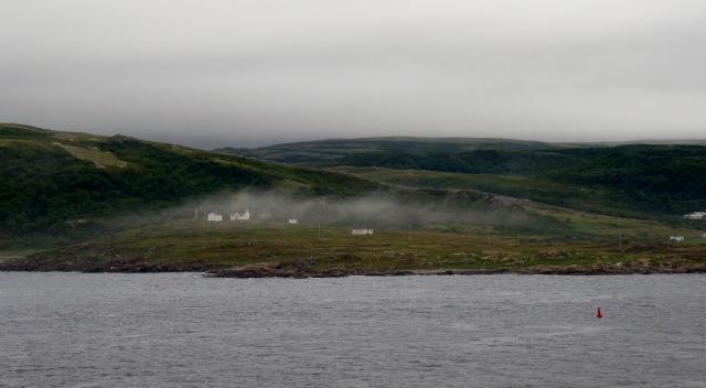 Anchored at Red Bay, Labrador