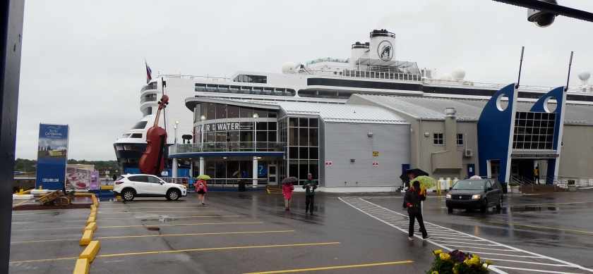 The Jean Harris Cruise Terminal;  and Flavor on the Water Restauant.