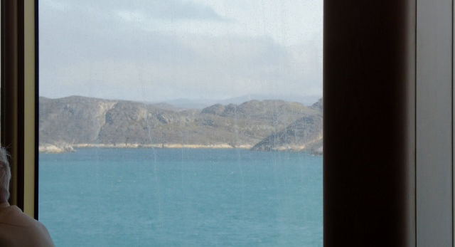 It is never good to take photos thru a ship's salt-marked windows!